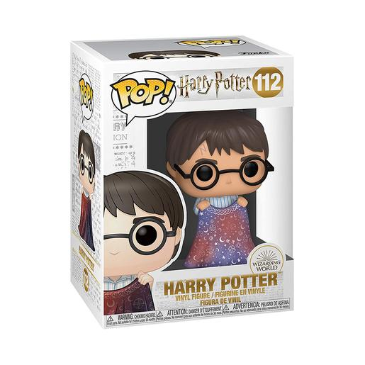 Harry Potter - Harry com Capa de Invisibilidade - Figura Funko POP