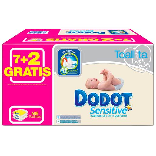 Dodot - Pack Toalhitas Sensitive 486