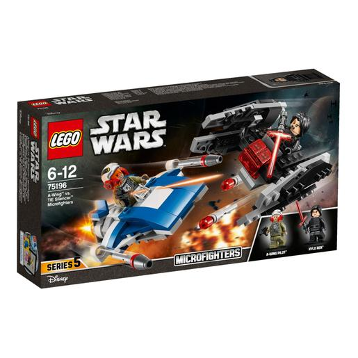 LEGO Star Wars - A-Wing contra TIE Silencer Microfighters - 75196