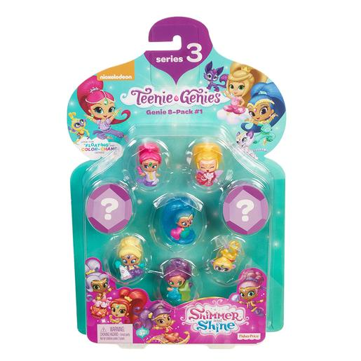 Shimmer and Shine - Fisher Price - Pack 8 Génios (vários modelos)