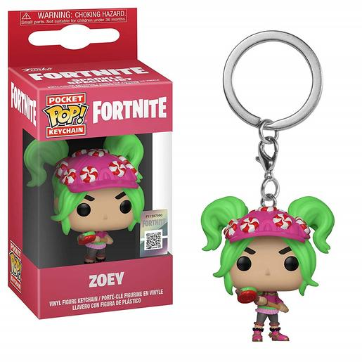 Fortnite - Zoey - Porta-chaves POP Pocket
