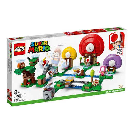 LEGO Super Mario - Set de Expansão: A Caça do Tesouro do Toad - 71368