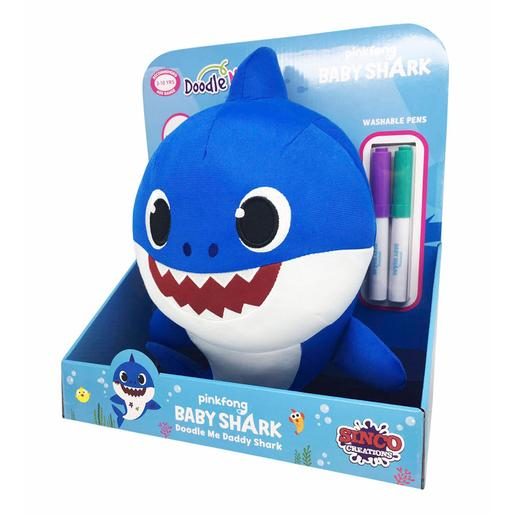 Baby Shark - Peluche Daddy Shark 30 cm