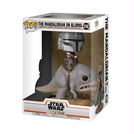 Star Wars - The Mandalorian no Blurrg - Figura Funko POP