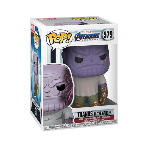 Os Vingadores - Thanos Bobble-Head Endgame in The Garden - Figura Funko POP