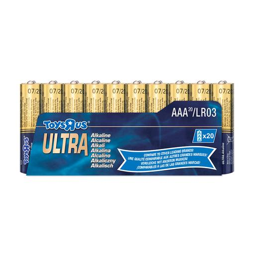 Ultra - Pack 20 Pilhas AAA Ultra Alcalinas