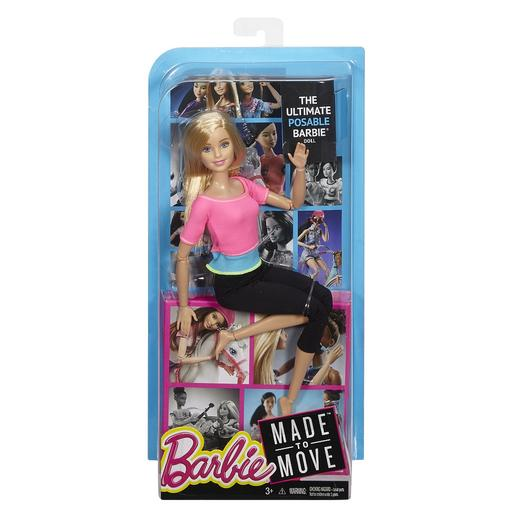 Barbie - Boneca Movimento - Top Rosa e Turquesa