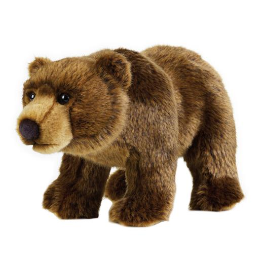 National Geografic - Peluche Urso Grizzly 30 cm