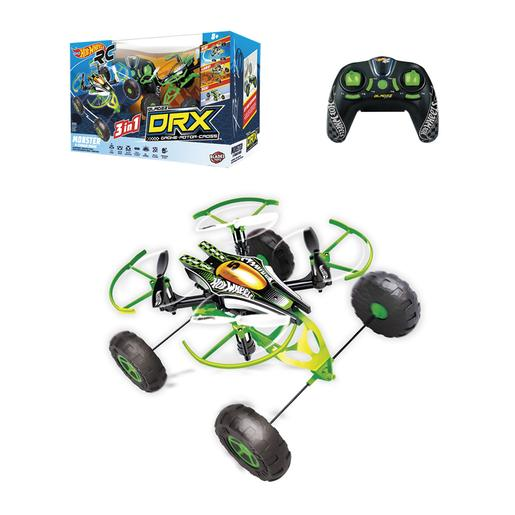 Hot Wheels - Set Drone Monster X Terrain Rádio Controlo
