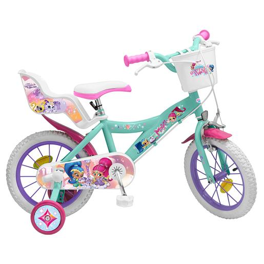 Shimmer and Shine - Bicicleta 14 Polegadas
