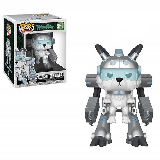 Rick and Morty - Exoskeleton Snowball - Figura POP