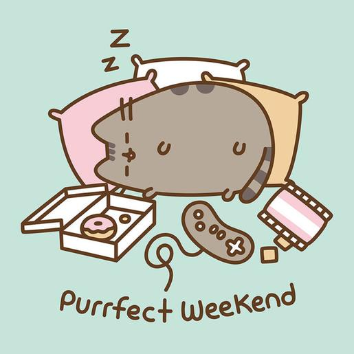 Pusheen - Canvas 30 x 30 cm Purrfect