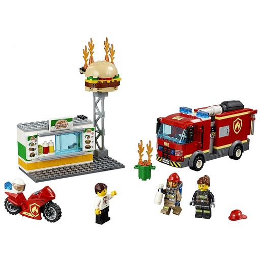 LEGO City - Resgate do Incêndio na Hamburgueria - 60214
