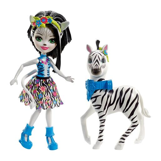 Enchantimals - Zelena Zebra