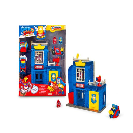 SuperZings - Playset Esquadra de Polícia SuperZings