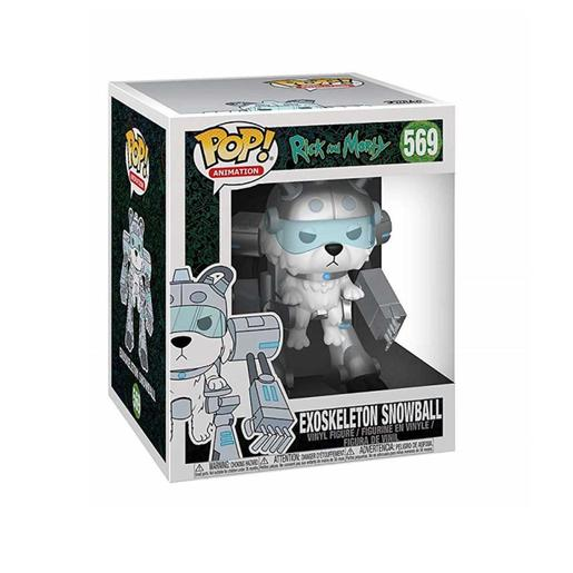 Rick and Morty - Exoskeleton Snowball - Figura Funko POP