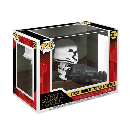 Star Wars - First Order Treadspeeder - Figura Funko POP Movie Moments
