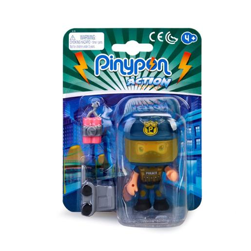 Pinypon - EOD - Figura Polícia Especialista Pinypon Action