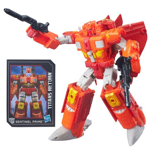 Transformers - Autobot Infinitus e Sentinel Prime - Generations Voyager Titan