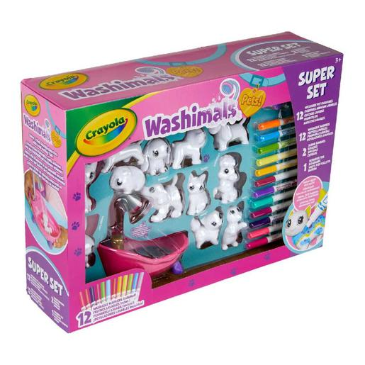 Washimals - Set Mascotes e Banheira