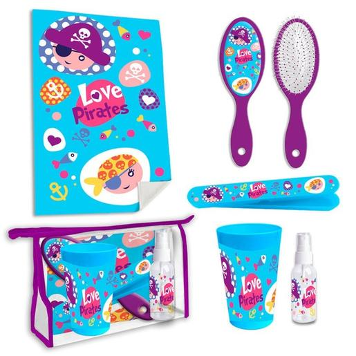 Set necessaire de toilete Love Pirates