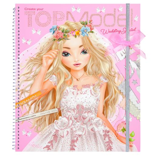 Create your wedding special Topmodel colouring book
