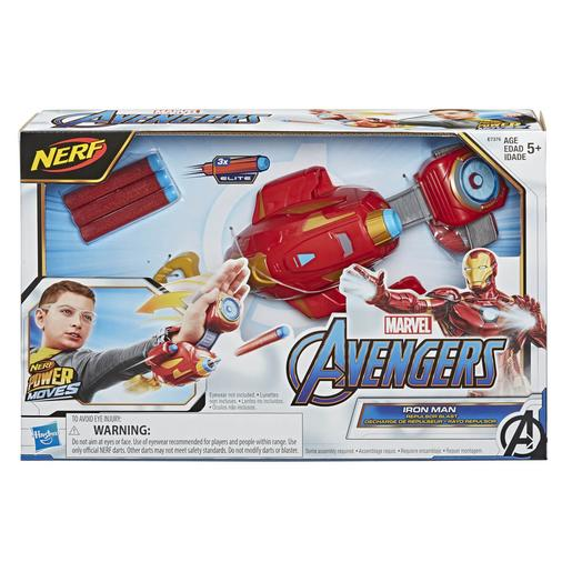 Nerf - Os Vingadores - Lançador Power Moves Iron Man