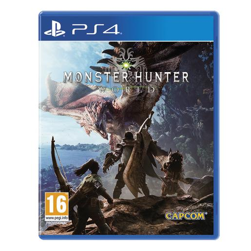PS4 - Monster Hunter World