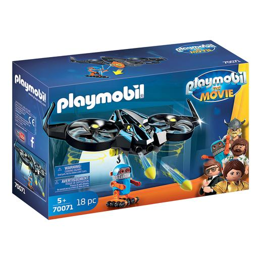 Playmobil - Robotitron com Drone The Movie - 70071
