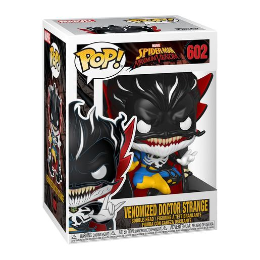 Spider-Man Maximum Venom - Venomized Doutor Strange - Figura Funko POP