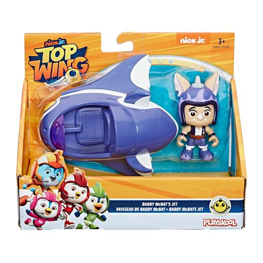 Playskool - Top Wing Baddy - Figura e Veículo