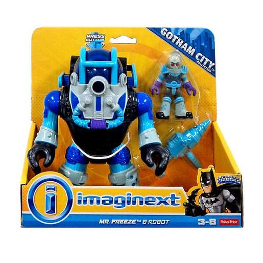 Fisher Price - Imaginext DC - Mr. Freeze e Robot