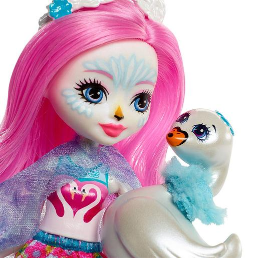 Enchantimals - Siffi Swan - Boneca e Mascote