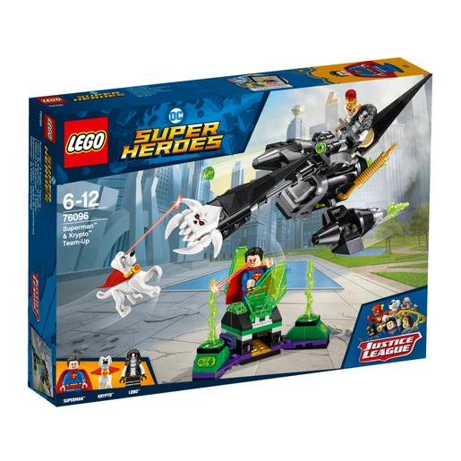 LEGO Super Heroes - Superman and Krypto Team-Up - 76096