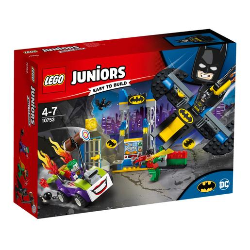 LEGO Junior - O Ataque do Joker à Batcaverna - 10753