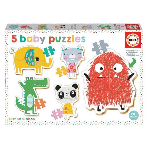 Educa Borrás - Lemon Ribbon - Baby Puzzles