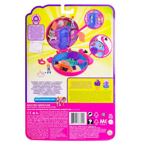Polly Pocket - Cofre Flamingo Flutuante