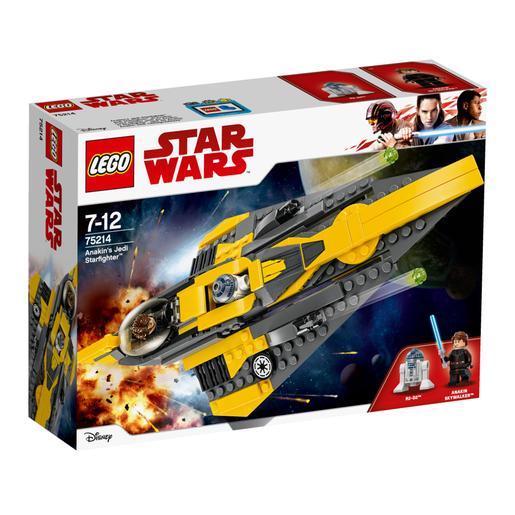 LEGO Star Wars - O Starfighter Jedi do Anakin - 75214