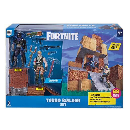 Fortnite - Set Turbo Builder Jonesty e Raven