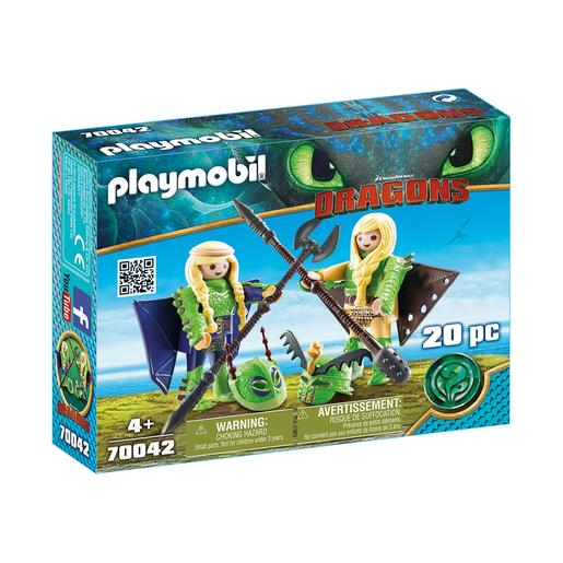 Playmobil - Brutesco e Brutália com Flight Suit - 70042
