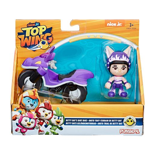 Playskool - Top Wing Betty - Figura e Moto