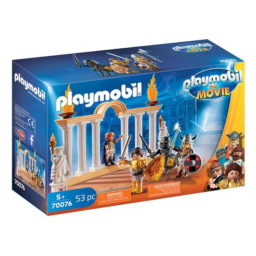 Playmobil - Imperador Maximus no Coliseo Playmobil The Movie - 70076