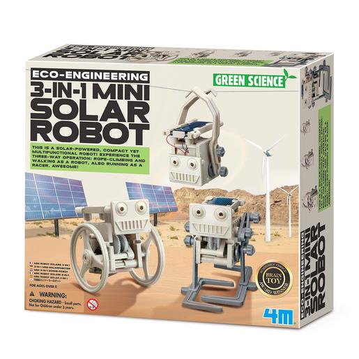 Green Science - Mini Robô Solar 3 em 1