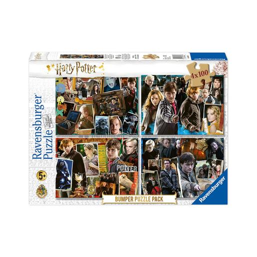 Ravensburger - Puzzle 4 em 1 Harry Potter