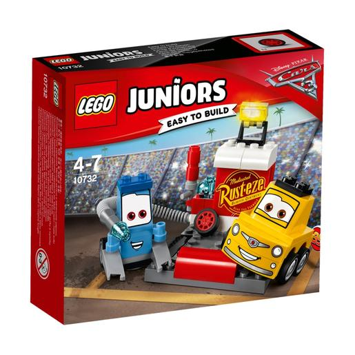 LEGO Junior - A Paragem nas Boxes de Guido e Luigi - 10732