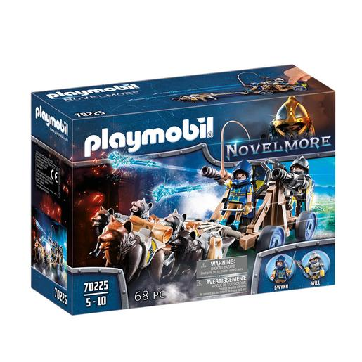 Playmobil - Equipa do Lobo de Novelmore - 70225