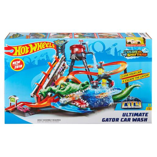 Hot Wheels - Crocodilo Túnel de Lavagem