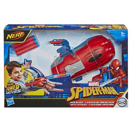 Nerf - Os Vingadores - Lançador Power Moves Spider-Man