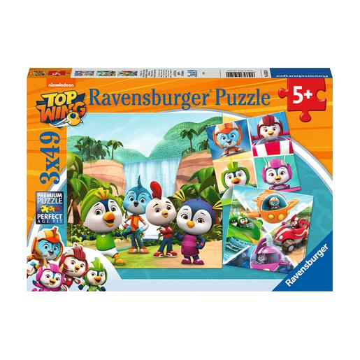 Ravensburger - Top Wing - Pack Puzzles 3x49 Piezas