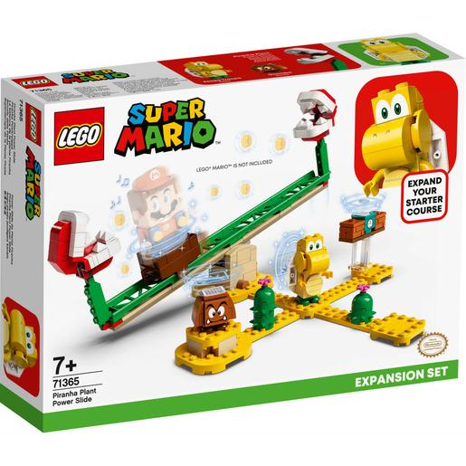LEGO Super Mario - Set de Expansão: Power Slide da Planta Piranha - 71365